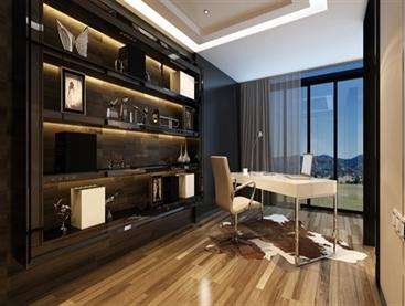 Modern Corner Office
