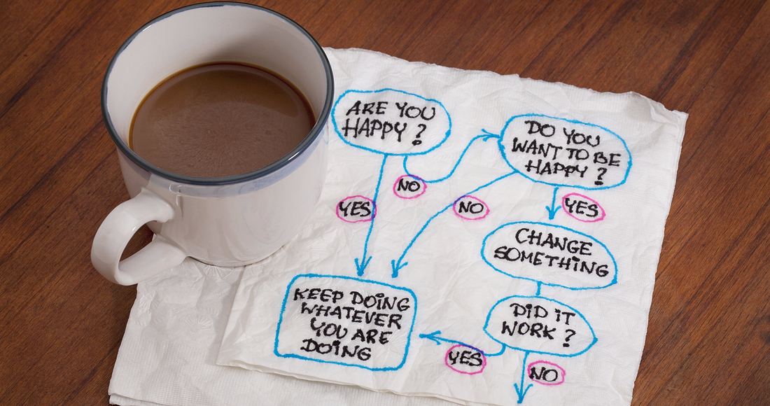 Making decisions over a cup of coffee