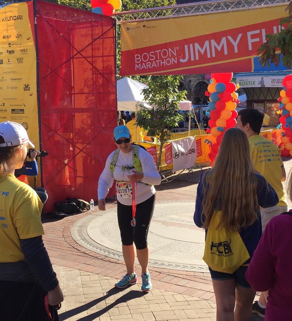 Finish Line Jimmy Fund Walk
