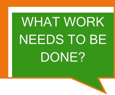 What Work Needs To Be Done?