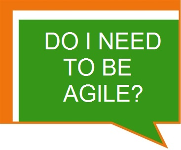 Do I Need to be Agile?